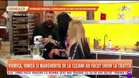 Chef Scărlătescu, fermecat de Margherita de la Clejani