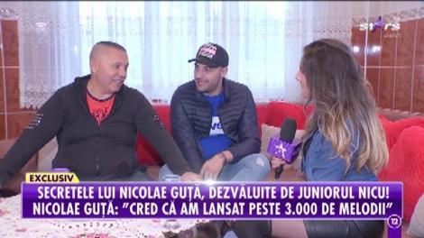 Unicul interviu cu Nicolae Guţă şi unul dintre moştenitorii imperiului creat de celebrul cântăreţ!
