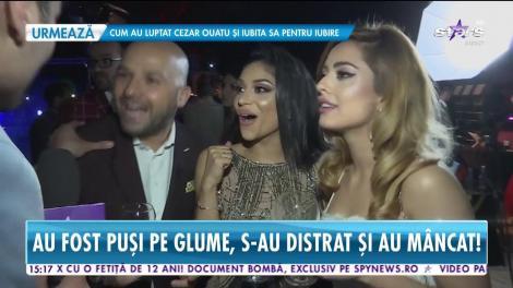 Nasrin, Andrei și Roxana, interviu de senzație! Matinalii au participat la marea petrecere a vedetelor ce a avut loc în Capitală