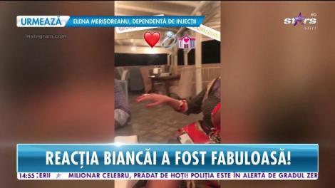 Bianca Drăgușanu a fost cerută de soție, de Alex Bodi!  Întreg momentul a fost filmat
