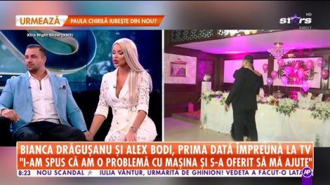Bianca Drăguşanu şi Alex Bodi, pentru prima dată împreună la TV