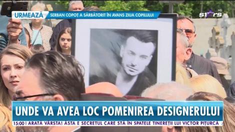 Parastas de 40 de zile pentru designerul Răzvan Ciobanu, cu mușchi de vită și sparanghel