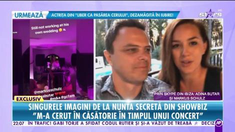Adina Butar și DJ Markus Schulz, prima apariție publică că soț și soție!