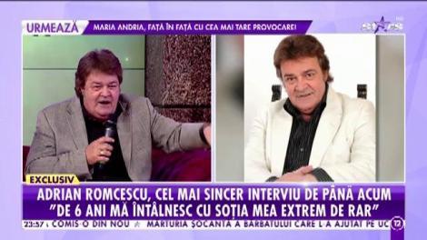 Şi-a lăsat soţia departe, de dragul părinţilor! Adrian Romcescu, cel mai sincer interviu de până acum!