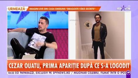 Star Matinal. Cezar Ouatu, prima apariție după ce s-a logodit. Ce planuri are artistul