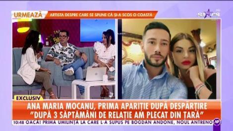 Star Matinal. Ana Maria Mocanu, adevăratele motive ale despărțirii: Ne-am certat foarte tare în ultimul an de relație