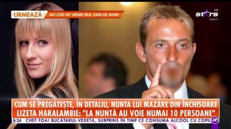 Cum se pregătește, în detaliu, nunta lui Radu Mazăre din închisoare. Iubita fostului edil a ales verighetele