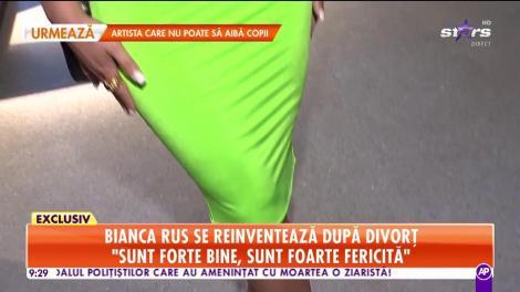 Bianca Rus se reinventează după divorţ şi arată mai bine ca niciodată!