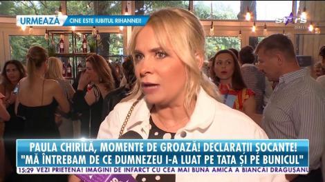 Paula Chirilă, declaraţii şocante! Vedeta fost la un pas de moarte din cauza unor pastile!