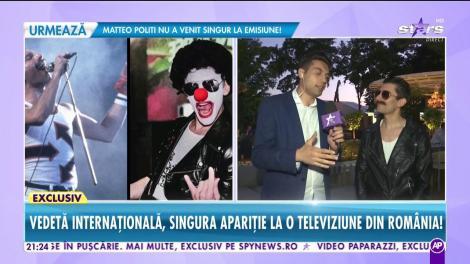 Vedetă internațională, singura apariție la o televiziune din România! Bohemian Rhapsody se aude live la Răi da' buni