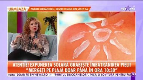 Atenție, femei! Expunerea solară grăbește îmbătrânirea pielii: Mergeți pe plajă doar până în ora 10:30