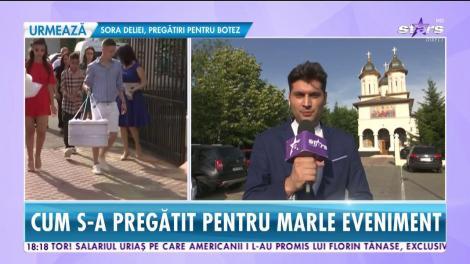 Star News. Andreea Tonciu, naşă pentru prima dată. Cum s-a pregătit pentru marele eveniment