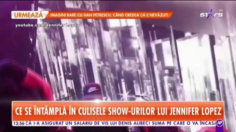 Star Matinal. Ce se întâmplă în culisele show-urilor lui Jennifer Lopez