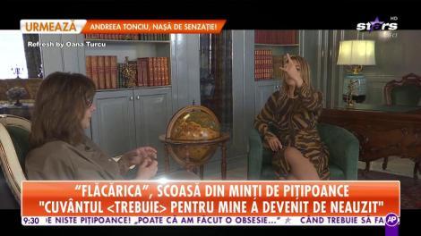 Star Matinal. Carmen Tănase, scoasă din minți de pițipoance: Nu vreau să fiu ca toată lumea