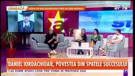 Star Matinal. Daniel Iordăchioaie, povestea din spatele succesului: Indiferent cât ar fi de talentat, un artist nu poate să cânte orice