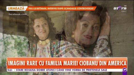 Star Matinal. Imagini rare cu familia Mariei Ciobanu din America