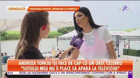 Star Matinal. Andreea Tonciu îşi face de cap cu un grec celebru: Nu contează vârsta, contează că pot și îmi doresc