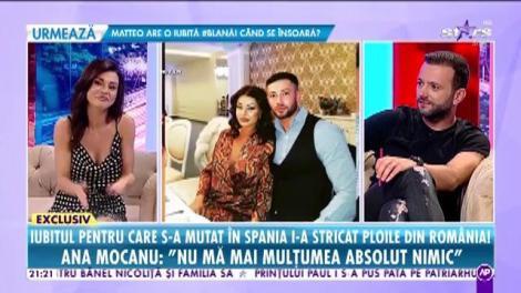 Ana Mocanu s-a despărţit de iubit şi a revenit în România!