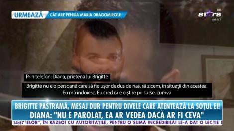 Brigitte Pastramă le transmite un mesaj dur divelor care atentează la soţul ei