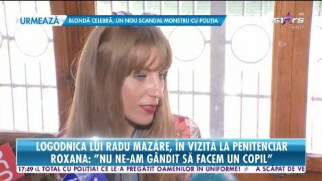 Logodnica lui Radu Mazăre, în vizită la penitenciar