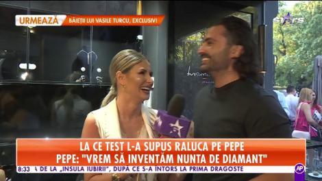 Pepe şi Raluca vor să inventeze nunta de diamant! Cei doi sunt mai îndrăgostiţi ca niciodată