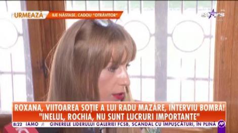 """Roxana, viitoarea soţie a lui Radu Mazăre, declaraţii după vizita din penitenciar: """"Nu m-am așteptat să mă ceară"""""""