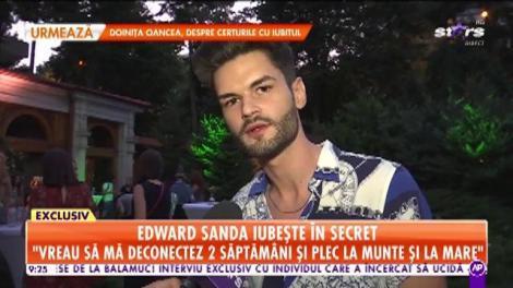 Star Matinal. Edward Sanda iubește în secret: Mă consider un om fericit și cred că asta contează cel mai mult