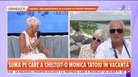 Star Matinal. Monica Tatoiu, povești din cea mai recentă vacanță. Când vine vorba de plăcerile ei, nu se uită la bani