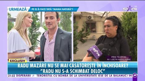 Radu Mazăre nu se mai căsătoreşte în închisoare?
