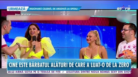 Cristina Spătar a primit un inel superb de la iubitul tinerel