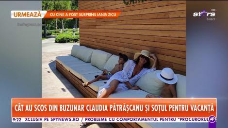 Claudia Pătrășcanu, vacanță de lux cu familia în Turcia