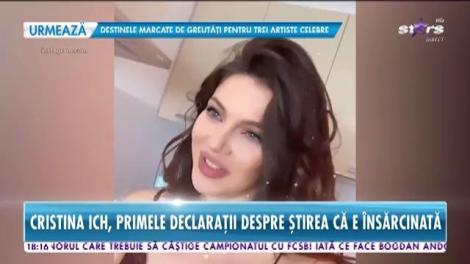Star News. Piți Junior, tătic? Cristina Ich, primele declarații după ce a apărut știrea că ar fi însărcinată