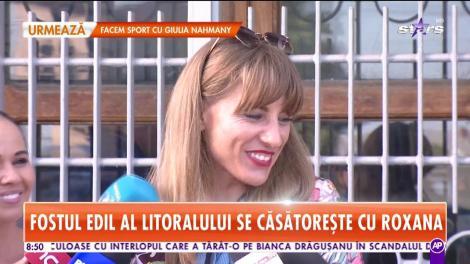 Star Matinal. A sosit ziua cea mare pentru Radu Mazăre! Fostul edil face nunta cu Roxana Mihalache în închisoare