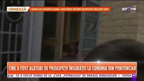 Star Matinal. Imagini exclusive de la nunta lui Radu Mazăre. Fostul edil s-a căsătorit cu aleasa inimii lui, la vorbitorul penitenciarului
