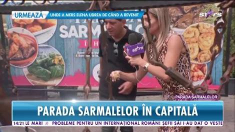 Star Magazin. Imagini de la Parada Sarmalelor. Evenimentul are loc în Capitală