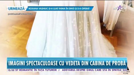 Star News. Andreea Bălan a ales să poarte trei rochii de mireasă în ziua nunții