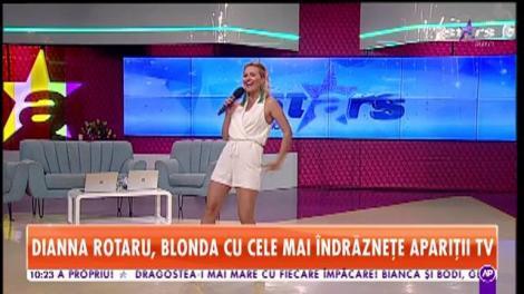 Dianna Rotaru cântă la Star Matinal melodia Caravana