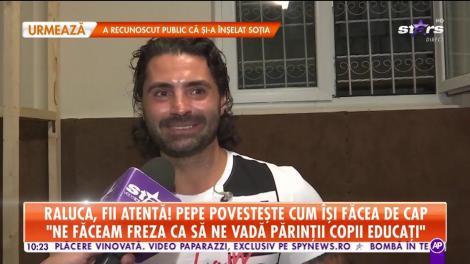 """Pepe, dezvăluiri amuzante din trecut! Cum îşi făcea artistul de cap în tinerețe: """"Eram vagabond și îmi lipsesc foarte mult prietenii de atunci"""""""