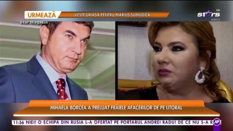 Mihaela Borcea a preluat frâiele afacerilor lui Cristi Borcea de pe litoral