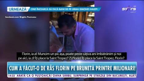Scandal între Brigitte şi Florin Pastramă, în luna de miere! Cum a făcut-o de râs pe brunetă printre milionari!