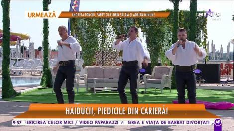 """Haiducii cântă, la Star Matina, melodia """"Zi, Mărie, Mărioară"""""""