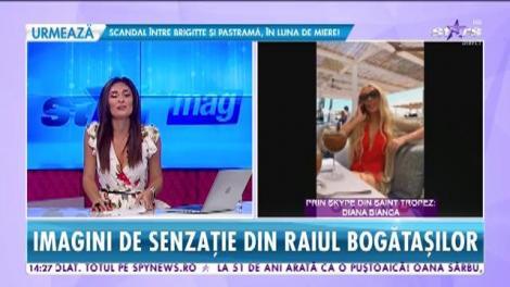 Star News. Diana Bianca, vacanță de lux în Saint Tropez!
