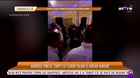 Dacă e party, party să fie! O cunoscută vedetă s-a distrat de minune pe ritmurile lui Florin Salam