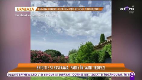 Brigitte şi Florin Pastramă se bucură din plin de luna de miere! Cum s-au distrat cei doi în Saint Tropez