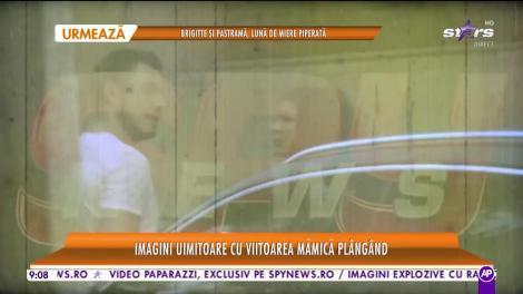 Star Matinal. Probleme între Cristina Ich şi Alex Piţurcă? Imagini uimitoare cu viitoarea mămică plângând