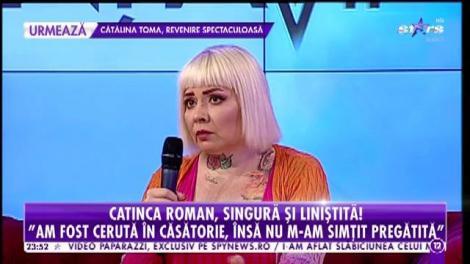 Agenția VIP. Catinca Roman, cea mai cool mamă din showbiz, dezvăluiri fără perdea! De ce nu s-a căsătorit niciodată