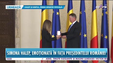 Star News. Simona Halep, decorată cu Ordinul Național Steaua României