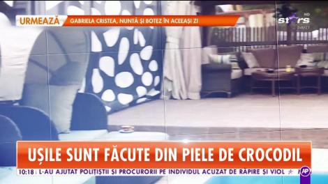 Star Matinal. Imagini spectaculoase din vila lui Brigitte Pastramă! Piscina din faţa casei a costat jumătate de milion de euro