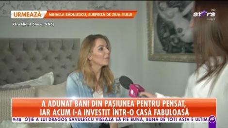 """Așa arată casa """"reginei sprâncenelor"""" din România!"""