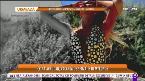 Crina Abrudan se răsfaţă într-o vacanţă de 5 stele, departe de România! Blondina arat mai bine ca niciodată!